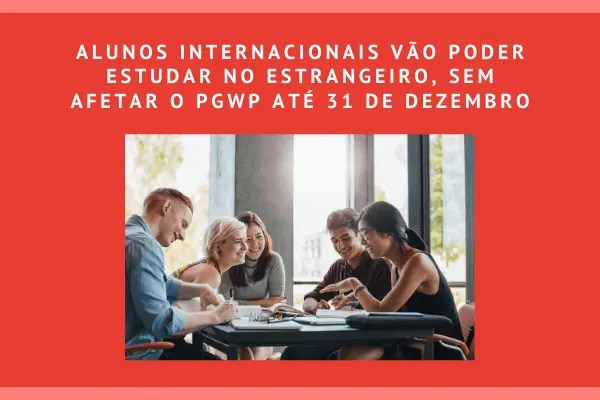 Alunos internacionais poderão estudar até o dia 31 de dezembro