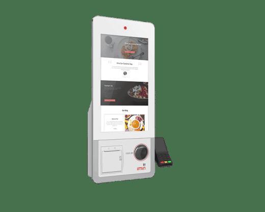 iMin Shopping Mall Kiosks Self Ordering Kiosk S1 Scanner