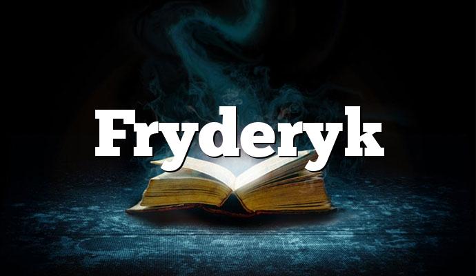 Fryderyk
