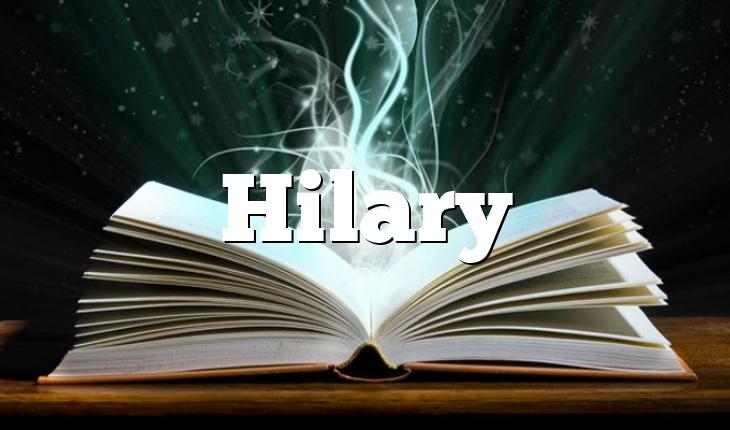 Hilary