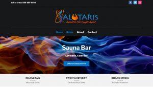 screenshot of salutaris suana bar loveland colorado