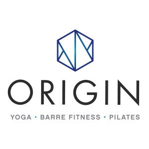 Origin House of Fitness Yoga Barre Fitness Pilates company logo