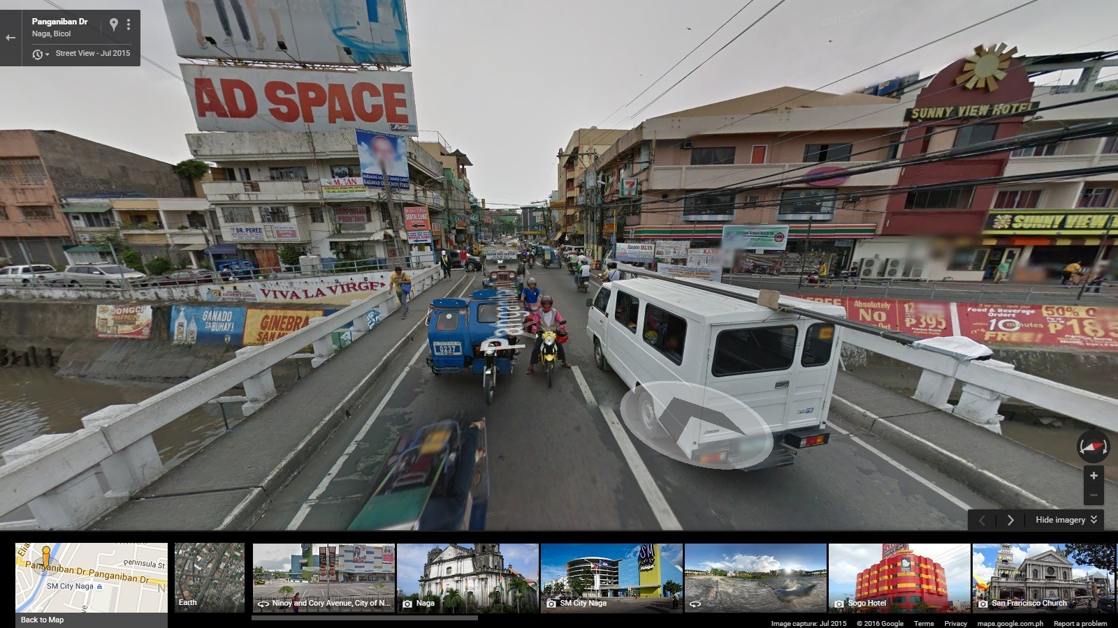 Google Maps Street View now available in Naga IMJ Interactive – Maps Google Earth Street View