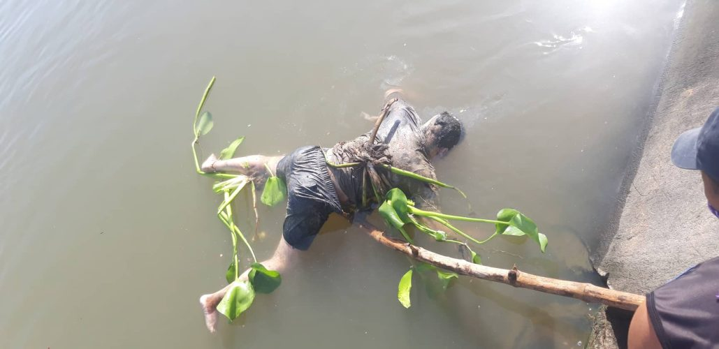 Man found floating in Bicol River near Barangay Tarosanan, Camaligan, Cam. Sur