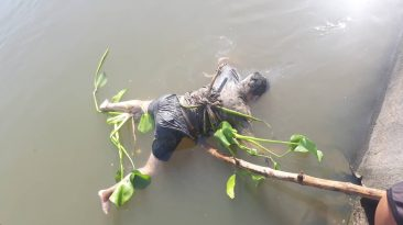 Man found floating in Bicol River near Barangay Tarosanan, Camaligan, Cam. Sur