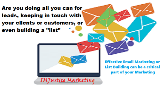 email marketing and list building for your business