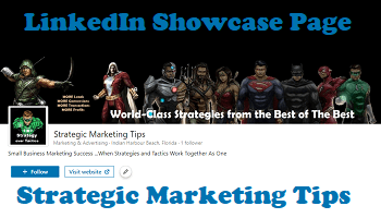 IMJustice Marketing Showcase Page on LinkedIn