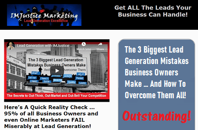 3 Biggest Lead Generation Mistakes Landing Page