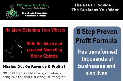 The 5 Step Proven Profit Formula Landing Page
