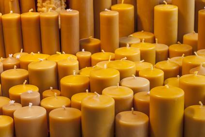 Bienenwachs Kerzen herstellen
