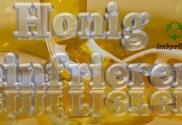 Honig einfrieren, Honig cremig machen