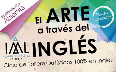 Actividades en Inglés para niños: Ciclo de Talleres Artísticos en Granada