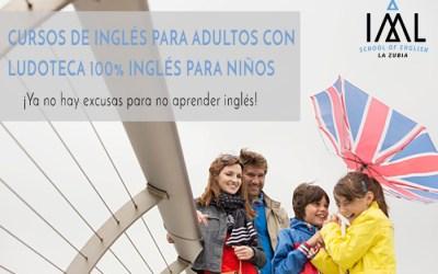 Clases de inglés para ti. Ludoteca para tus hijos 100% en inglés