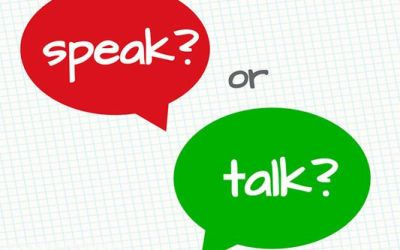 ¿Cuándo usar TALK y SPEAK? Diferencias