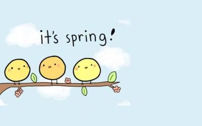 5 canciones primaverales en inglés para niños