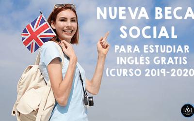 Nueva convocatoria de la beca social para estudiar inglés gratis en IML La Zubia