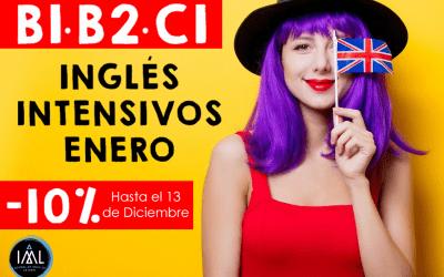 Cursos intensivos de inglés en Granada (La Zubia) en Enero 2020