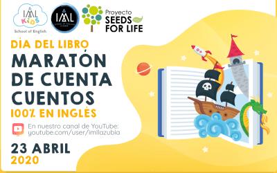 Día del Libro 2020: Maratón de cuentacuentos 100% en inglés