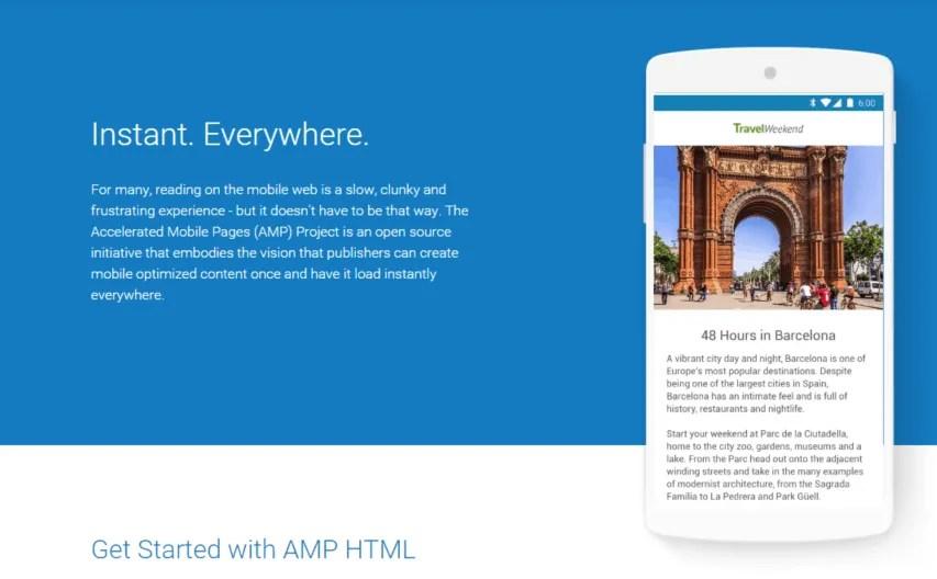 De volgende stap in mobile first: Accelerated Mobile Pages (AMP) van Google