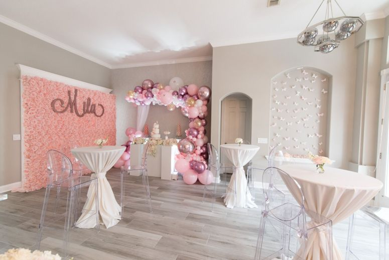Glam Rose Gold And Blush Baby Shower Immaculate Events Llc
