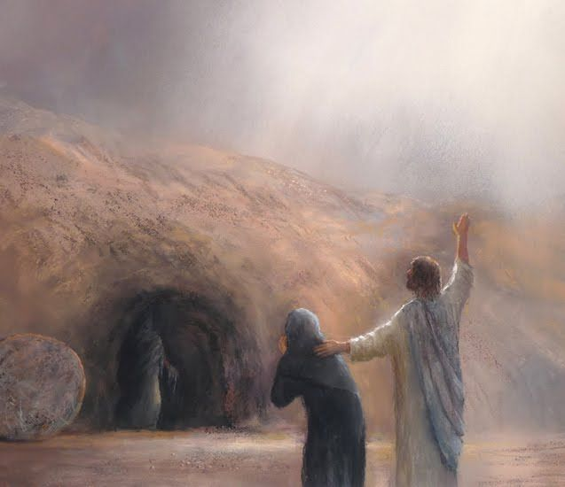 Wanting to Be Anywhere But Here SERMON by Rev. Gregory Mech. Jesus Raises Lazarus from John 11.