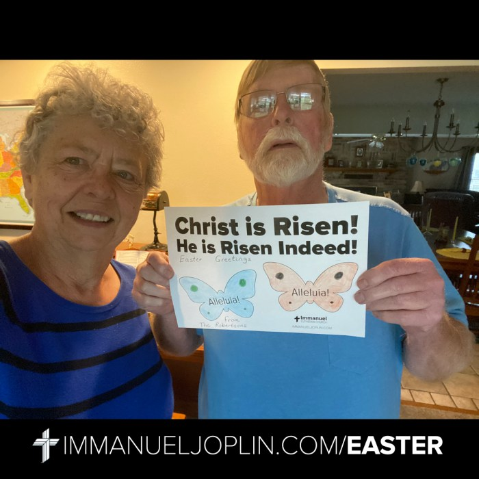 Easter at Immanuel 25