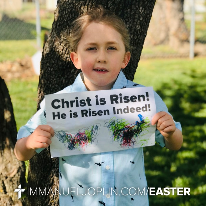 Easter at Immanuel 46