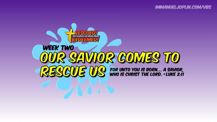 VBS At Home WEEK ONE 1