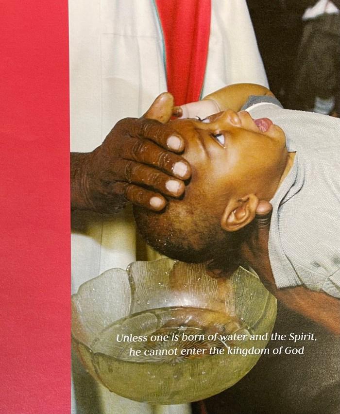 The Holy Trinity bulletin cover. Immanuel Lutheran Church LCMS. Joplin Missouri. Memorial Day.