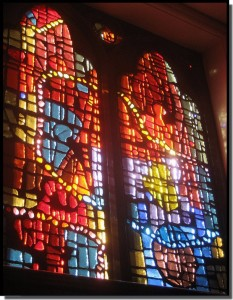 Immanuel Lutheran Church windows