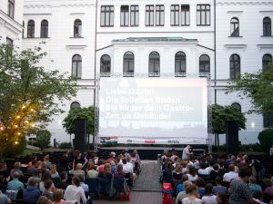 Zeise Open Air Kino Hamburg