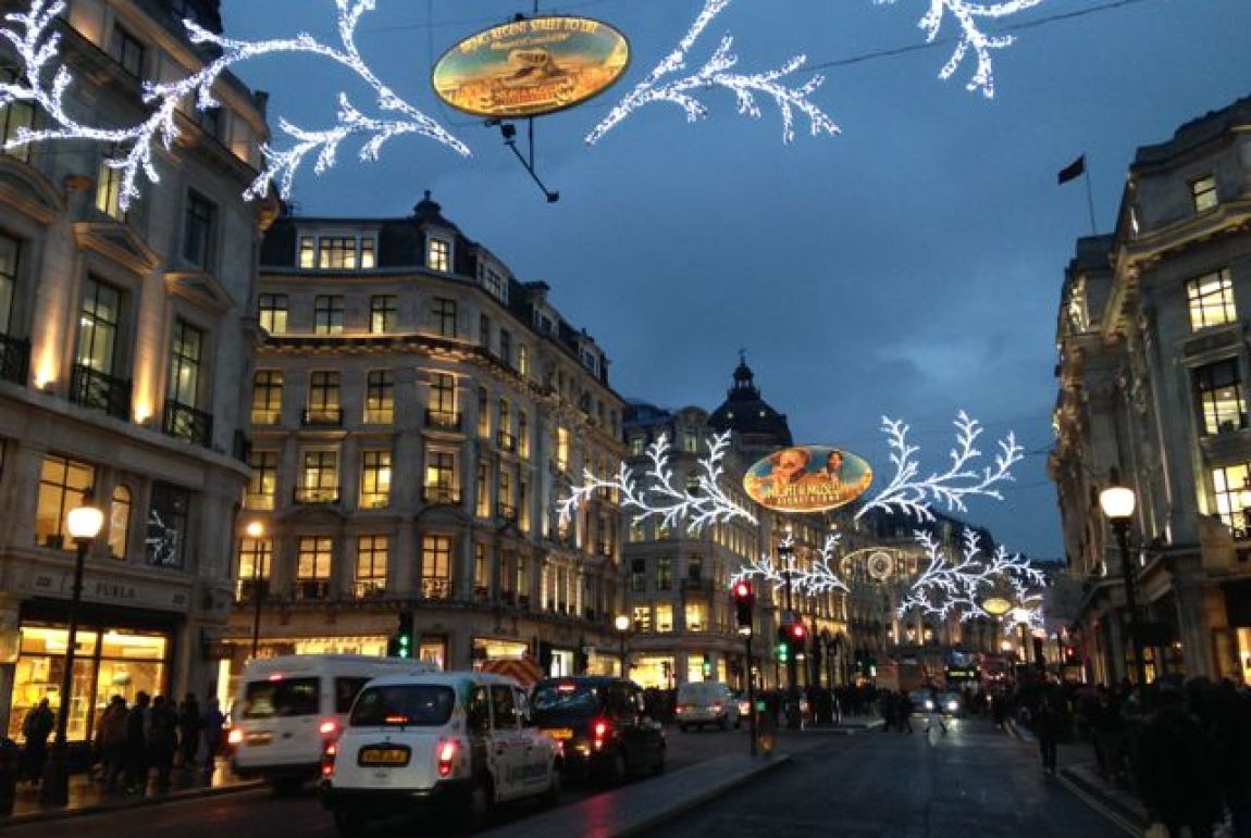 Tipps x-mas Shopping in London Regent Street