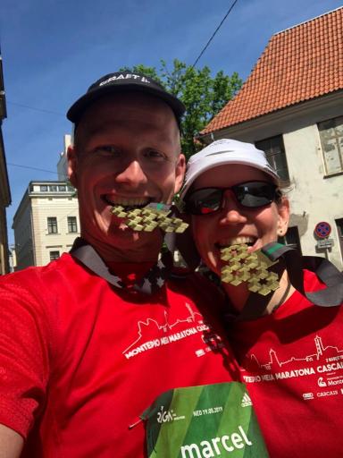 Riga Marathon Finisher