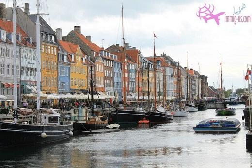 الهجرة إلى الدنمارك