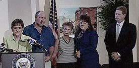 Sue Myrick and Gardner Family