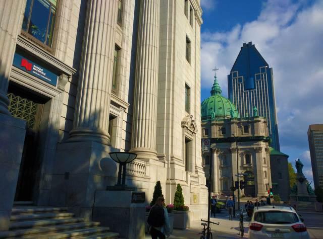 Montréal Quartier des affaires