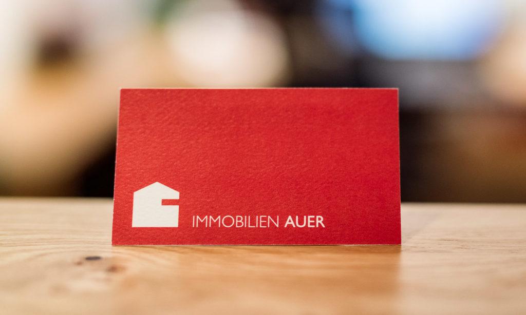 Nebenkosten Immobilien | Visitenkarte Immobilien Auer