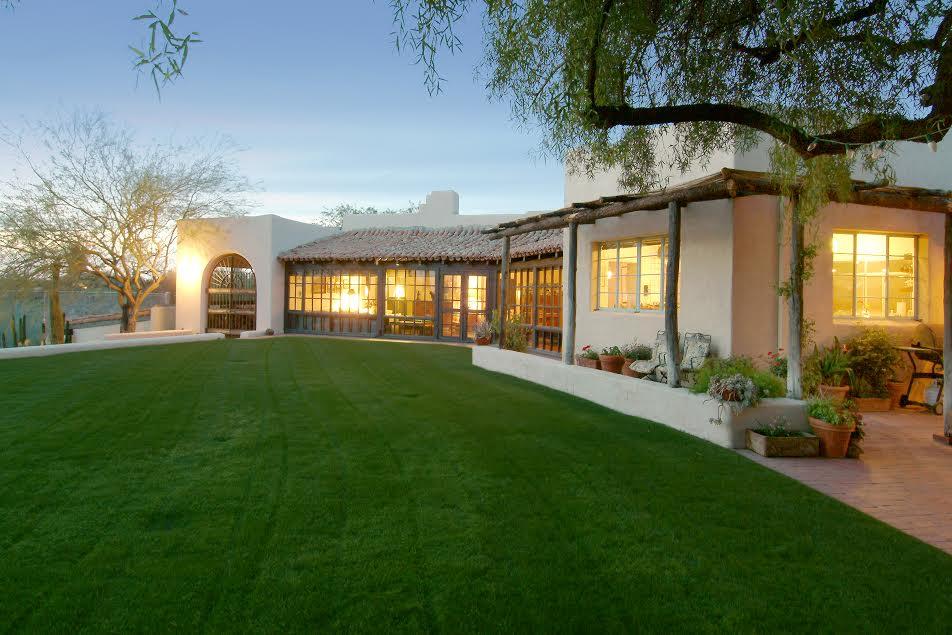 Lee Marvin\'s Villa bei Tucson, Arizona ist wieder auf dem Markt ...
