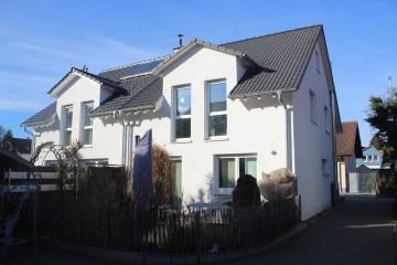 ++VERKAUFT++ Attraktives Doppelhaus in TOP-Lage. Modern. Großzügig. Hell., 79576 Weil am Rhein, Doppelhaushälfte