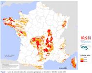 carte des risques de radon