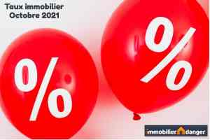 taux credit immobilier octobre 2021