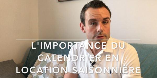 calendrier en location saisonnière