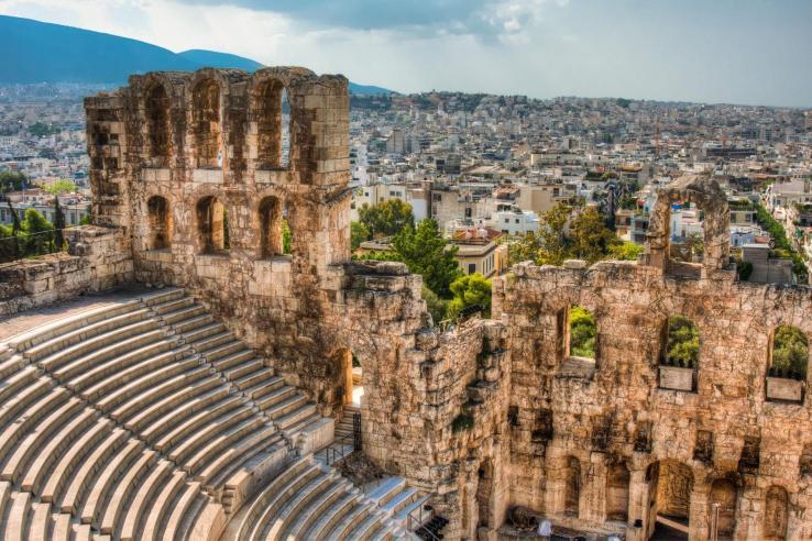 Athènes:Athènes, capitale actuelle de la Grèce, était également le cœur de la Grèce antique