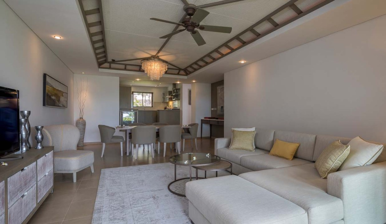 Appartement de 211m2 dans un style contemporain face au Golf et l'Océan7