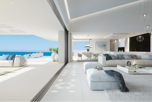 Frontline beach villa apartments next to Laguna Village- f