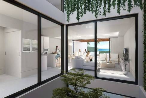 3 bedroom luxury penthouse for sale in Estepona, Andalusia0