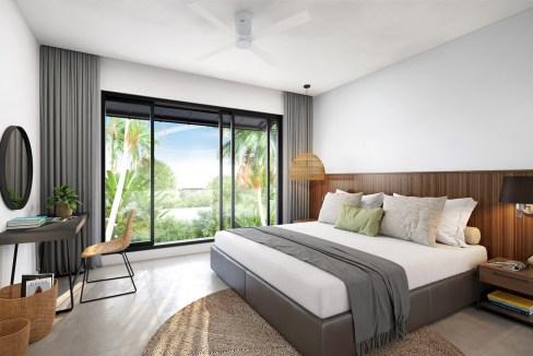 Ennéa Penthouse - Master-Bedroom