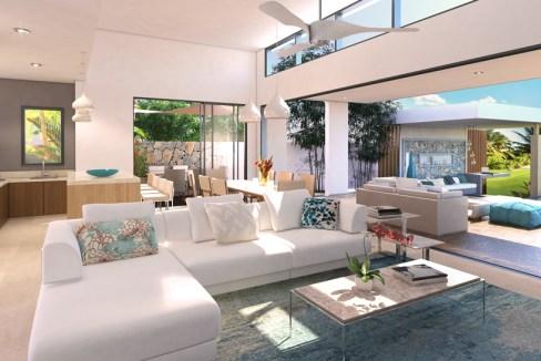 Golf View Villas - Living