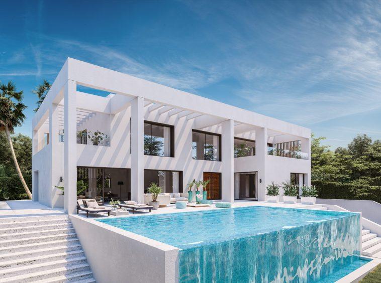 Benalmadena Immobilier-Swiss.ch|Projet d'habitation modulaire en béton||||||||||