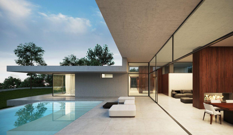 Villa moderna Villa avec piscine2